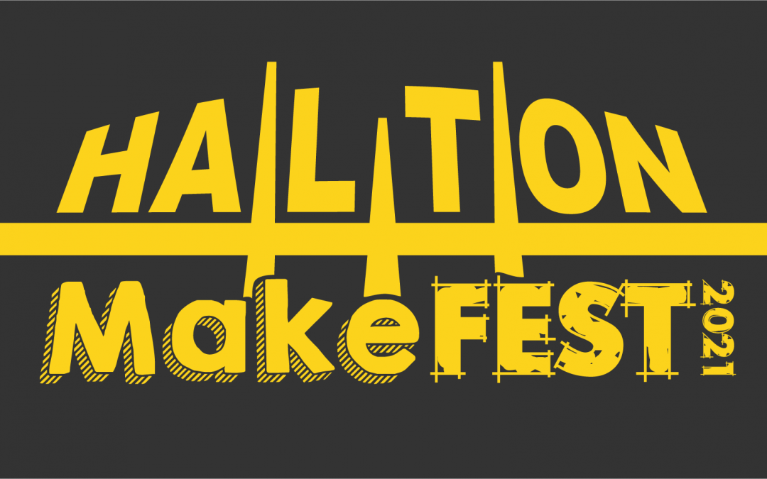 New Logo for Halton MakeFest 2021