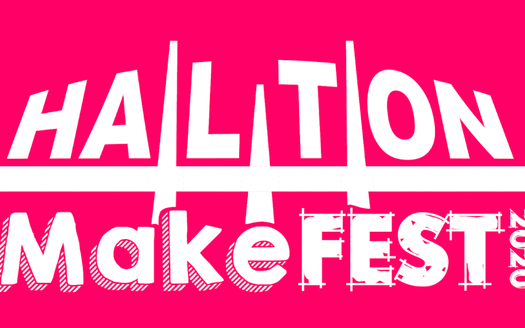 New Logo for Halton MakeFest 2020