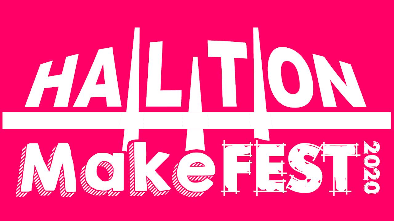 Halton MakeFest 2020 Logo