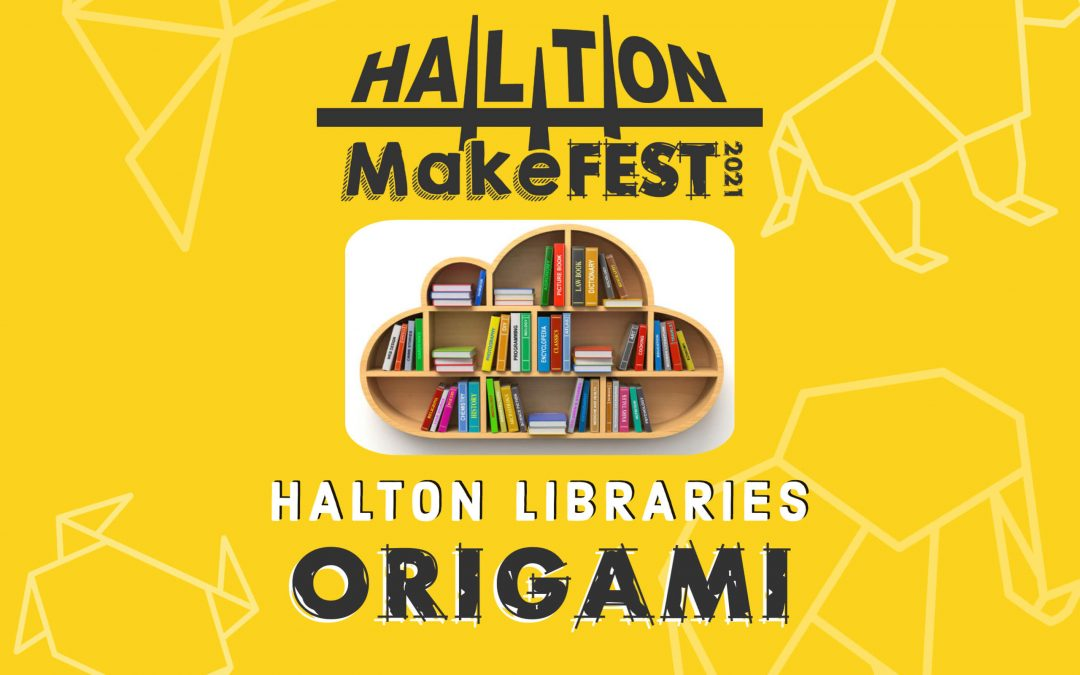 Origami and Book Art With Halton Libraries