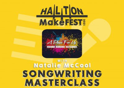 Songwriting Masterclass with A Place For Us and Natalie McCool