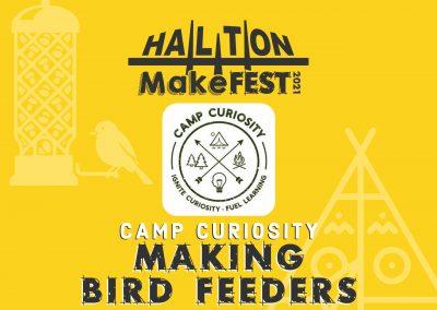 Making Bird Feeders with Camp Curiosity