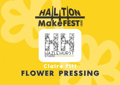 Flower Pressing With Claire Pitt
