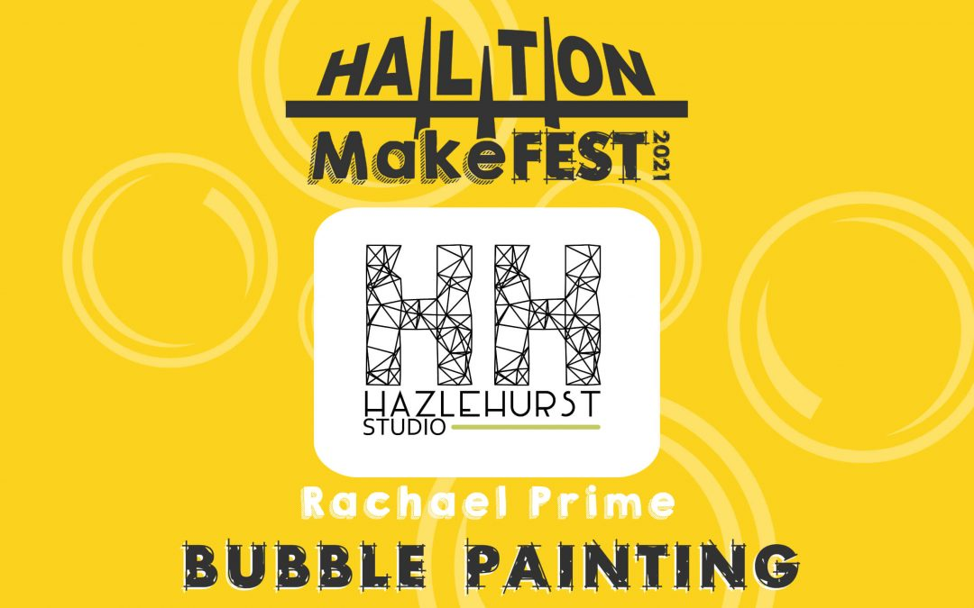Bubble and Fabric Painting With Rachael Prime