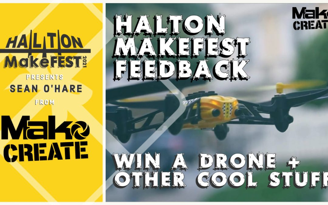 We Want Your Feedback!!  Win A Drone + Other Cool Stuff.